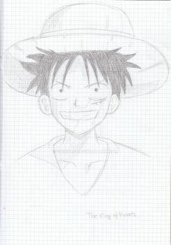 Luffy by chickron