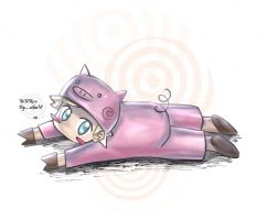 you're a pig....... again xD by Articu