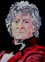 The Third Doctor by neilpalf