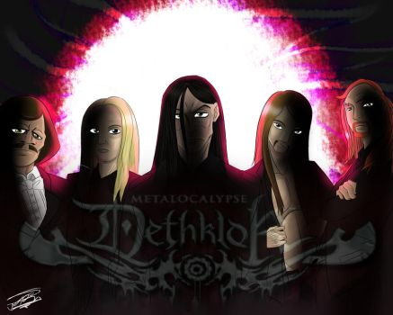 Metalocalypse in a swirl by AtrumAbyss13