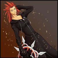 Axel - Kindom Hearts 2 by rosethorn