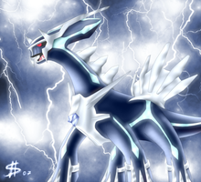 Dialga Stand-alone by Esepibe