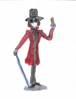 Willy  Wonka by DemonCartoonist