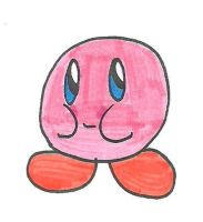 Kirby smile by cmara