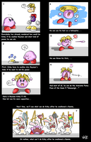 Rayman Kirby's abilities by Chimykal-girl