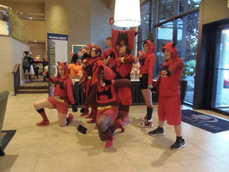 AnimeNext 2015 Team Magma Saturday by inugrl6