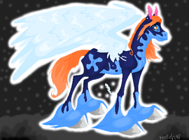 Lineless with wings by Holleh