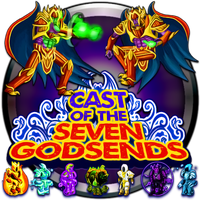 Cast Of The Seven Godsends by POOTERMAN