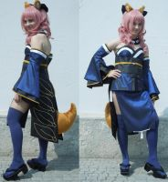 Caster Fate Extra cosplay by Krawalli