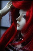red hair by Kaalii