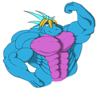 Muscled Godzill99 by DragonMaster616