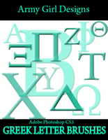 Greek Letters by armygirldesigns