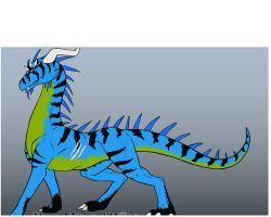 Reptile Dragon by 55thdemongage
