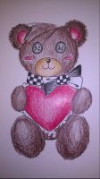 Valentine's Day Teddy Bear by PastaNotWar