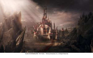 The Castle of the Red Queen by AliceInWonderland
