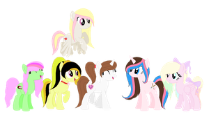 My Awesome Mane 6 by MythicalDreamLight
