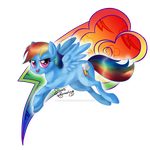 Rainbow Dash, the Element of Loyalty by NemoTurunen