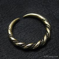 Bronze Viking ring from Gotland by Sulislaw