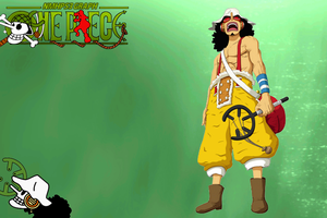 One Piece - Usopp Wallpaper by NMHps3