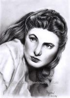 Ingrid Bergman by Lillian-Bann
