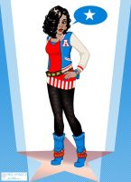 Miss America Chavez again. by e-carpenter