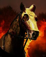 Portrait of the Damned_Dark Horse by KYghost