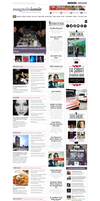 Magazinizmir News Website by grafiket