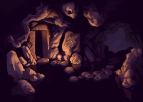Cave of the sleeper by Immp