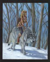 Wolf woman by Alayna