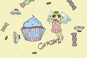 Cupcake angel by carroswensson