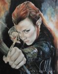 tauriel by cymue