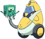 QT and BMO by PDJ004