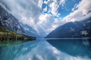 Kloentalersee by LinsenSchuss