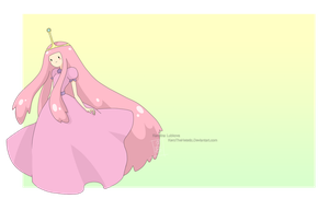 : Princess Bubblegum : by KarolinaNoumenon
