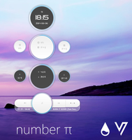 Number PI for Rainmeter [1.1 Final] by VakiNakamura