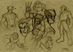 Wolvie's Sketches by DenisM79