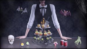 Sims 3 Creepy Sweets by XBloodyDollX