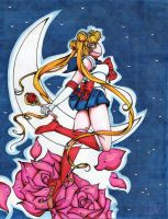 Sailor Moon by LotusCrystal