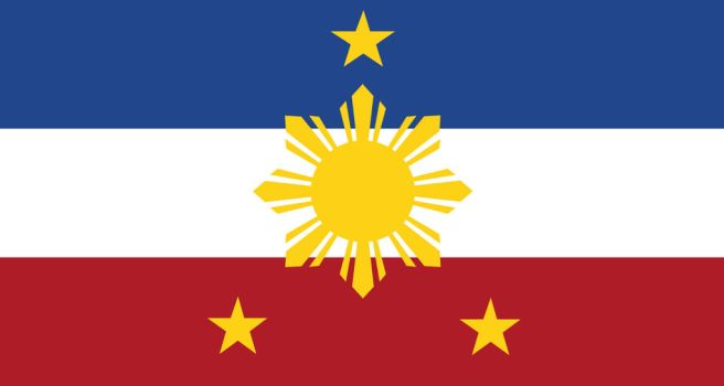 Flag of Federal Empire of the Philippines by ArvastMeister