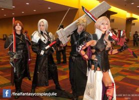 FFXIII Lightning Returns and the FFVII crew by jrhall22