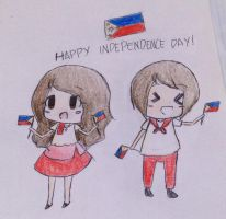 Happy Philippine Independence Day! by DeathStaravian