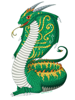 Year of the Dragon, Snake by Renathory