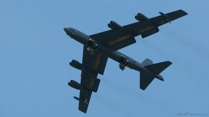 B-52 Flyby by Mathias89