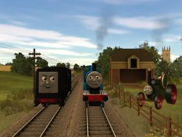 Edward, Trevor and the Useful Party deleted scene by BramGroatonDA