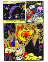 Revenge Of The Sungod Page 1 in CoLoR!!!! by jerrykimbro