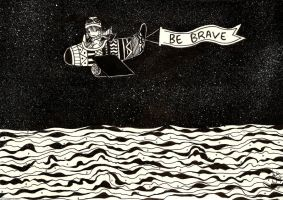 Be Brave by analubelico