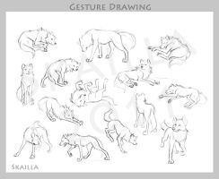 Gesture Drawing by Skailla