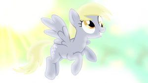 Just Derpy Wallpaper by SailorTrekkie92