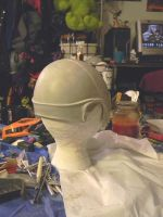 Sigyn Headdress WIP-Helmet Stage 2 Back by MorganCrone