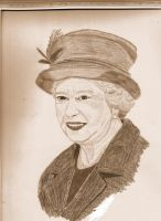 elizabeth II the queen by bevf2003